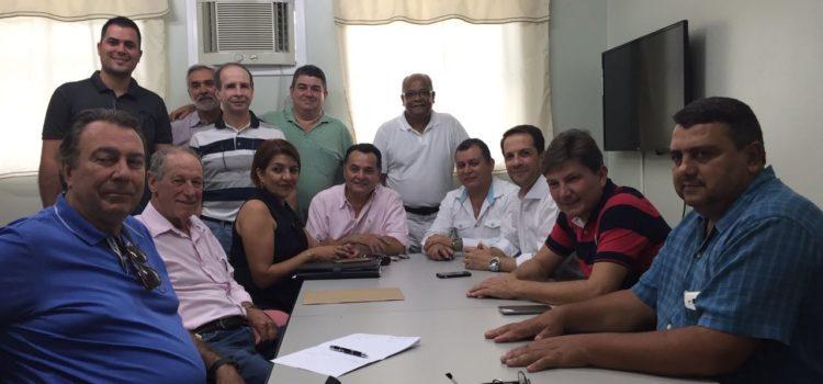 Prefeitos fazem reunião inédita em prol da saúde da microrregião