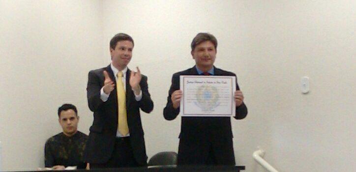 Mauricio Baroni e Rui Thoni são diplomados